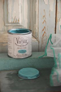 Vintage Paint, Old Turquiose