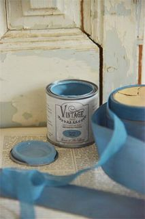 Vintage Paint, Dusty Blue