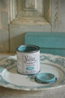 Vintage Paint, Dusty Turquiose