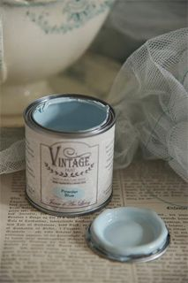 Vintage Paint, Powder Blue