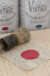 Vintage Paint, Warm Red