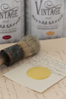 Vintage Paint, Warm Yellow