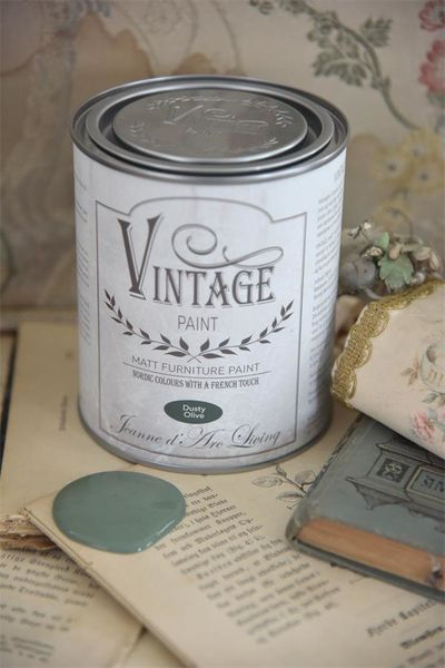 Vintage Paint, Dusty olive