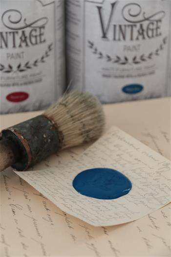 Vintage Paint, Warm Blue